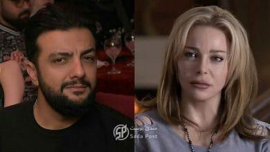 صورة طلال مارديني ضعيف ومكسـور وسوزان نجم الدين تواسيه!